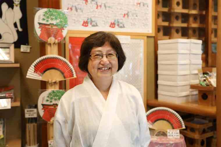 荒木神社の奥村さん