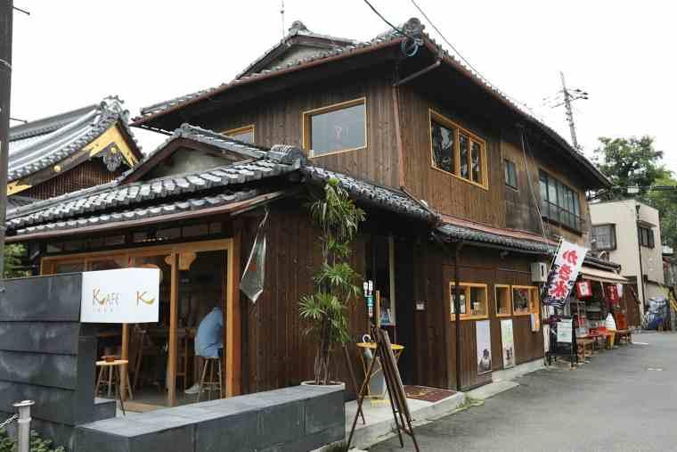 荒木神社近くの「KAFE INARI」