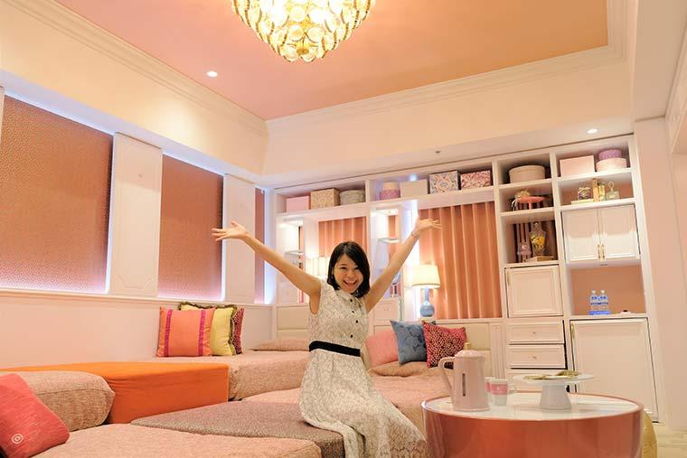 ホテルユニバーサルポート 「Girlyルーム」