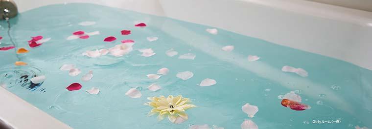 ホテルユニバーサルポート 「Girlyルーム」 入浴剤