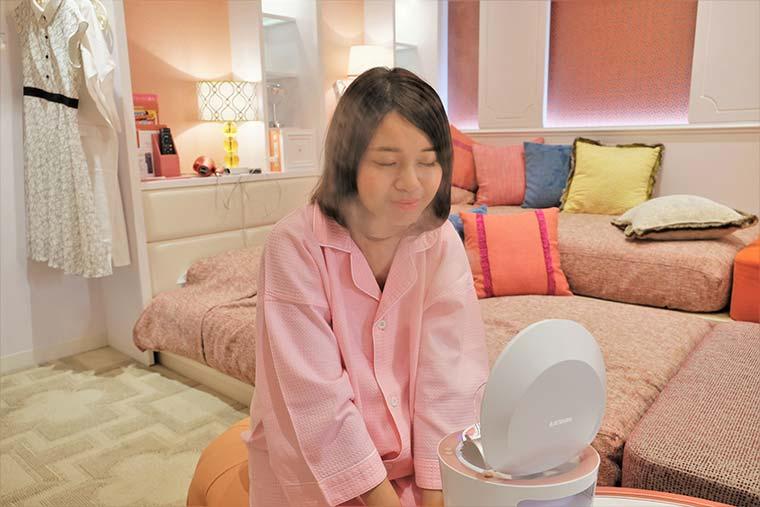 ホテルユニバーサルポート 「Girlyルーム」 美顔スチーマー