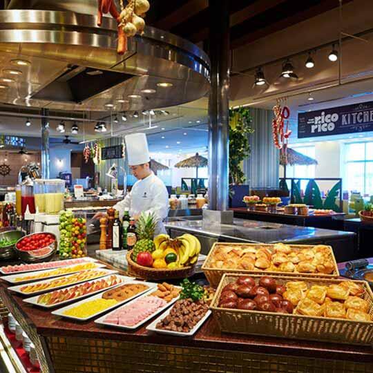 ホテルユニバーサルポート 朝食ブッフェ