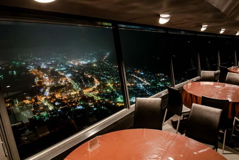 箱館山のレストラン「ジェノバ」