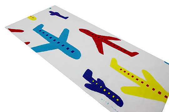 SOUSOU「手拭い 飛行機」