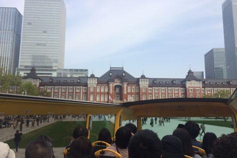 2階建てオープンバス