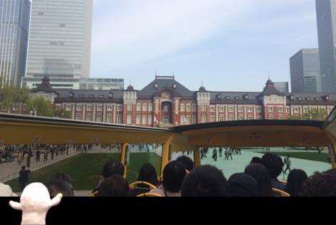 東京駅戻ってきました