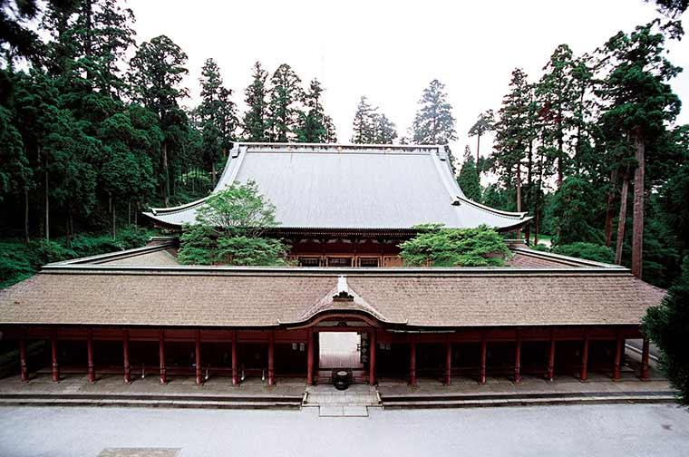 比叡山延暦寺 根本中堂(改修前)