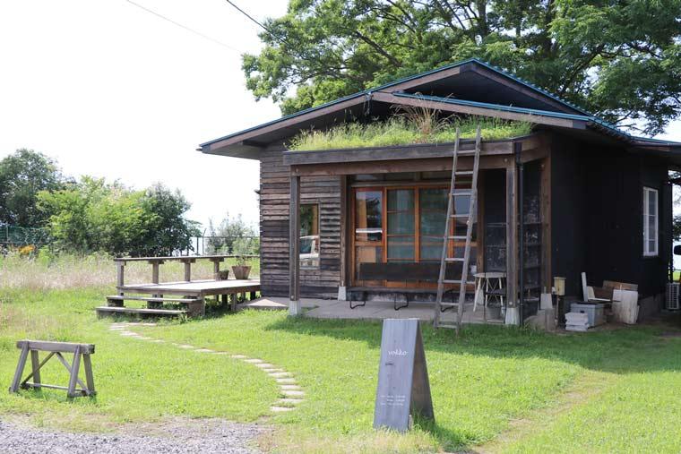 小さな平屋のカフェ「vokko(ヴォッコ)」