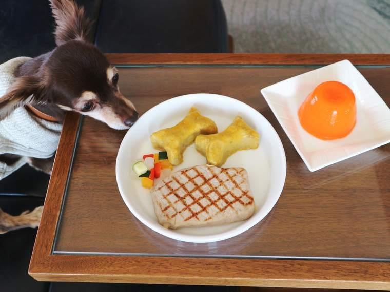 ヒルトン東京お台場 「ワンニャイトステイ」プランの食事
