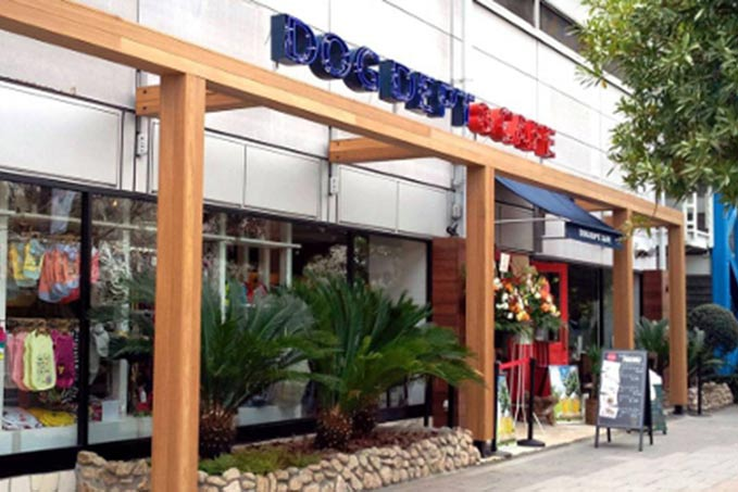 お散歩中に立ち寄りたいカフェ「DOG DEPT CAFE お台場東京ビーチ店」