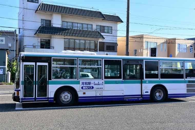 日間賀島 河和港へ向かうシャトルバス