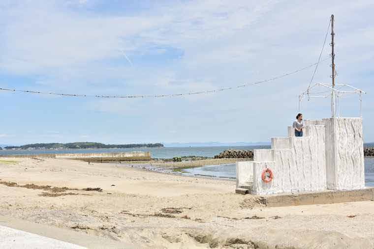 日間賀島 サンライズビーチ