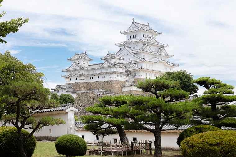 姫路城の西の丸公園は絶好のフォトスポット