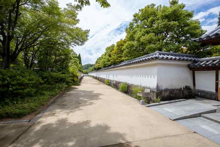 姫路 好古園 土塀