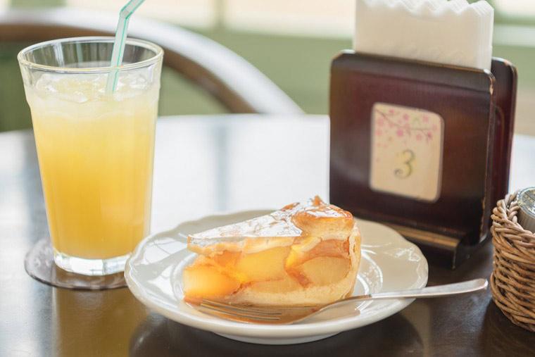 大正浪漫喫茶室 アップルパイ