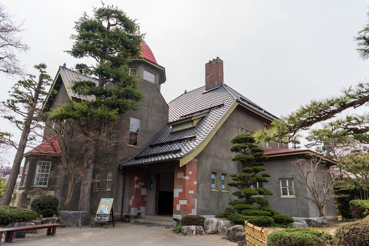 青森県 弘前市 大正浪漫喫茶室 藤田記念庭園