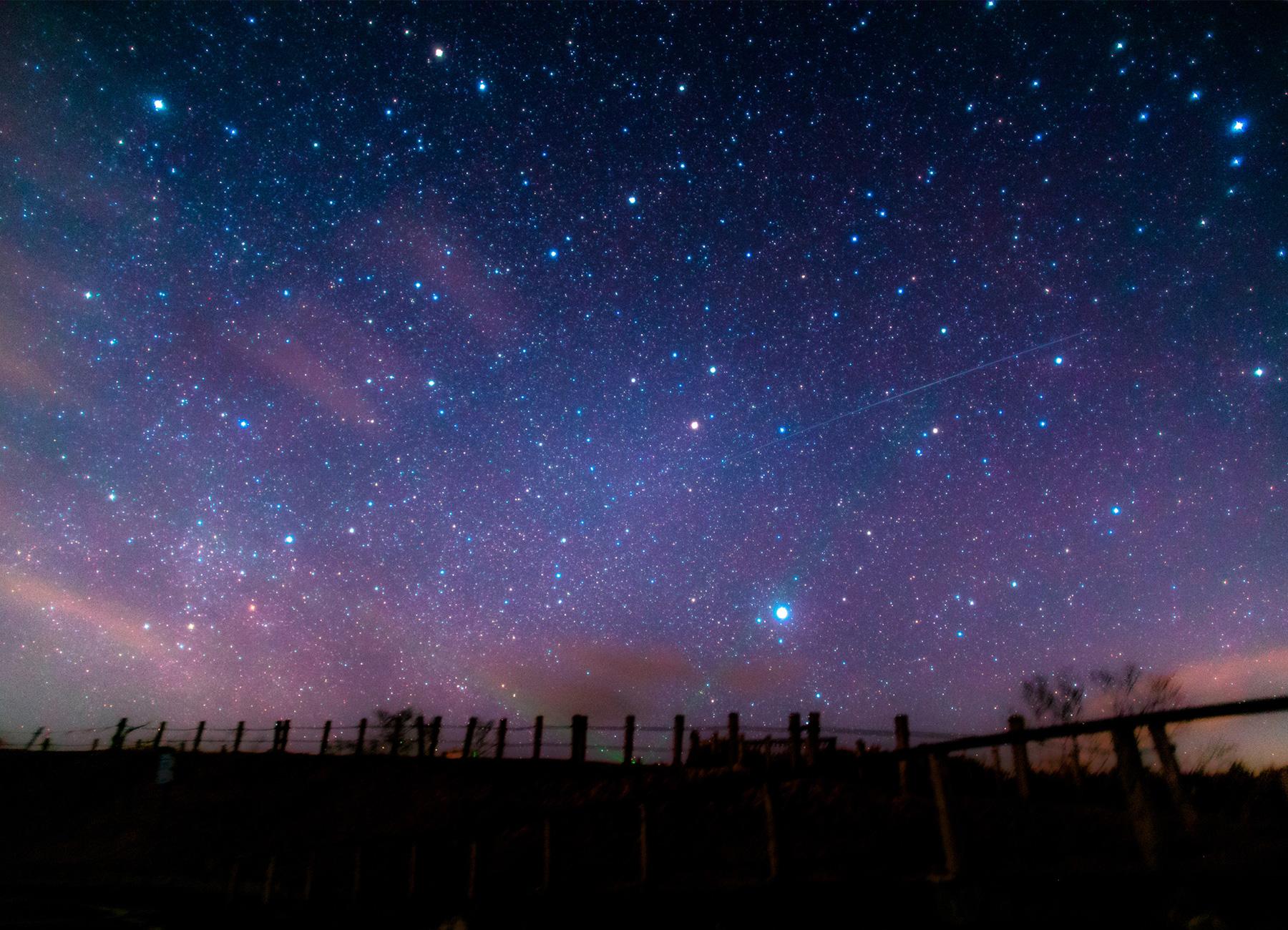 摩周湖星空観測