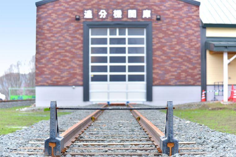 道の駅あびらD51ステーション 追分機関庫