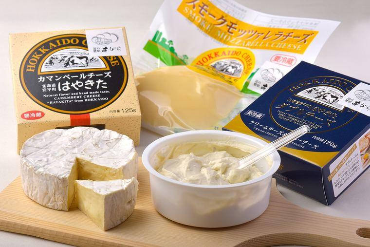 道の駅あびらD51ステーション 夢民舎(むーみんしゃ)のチーズ