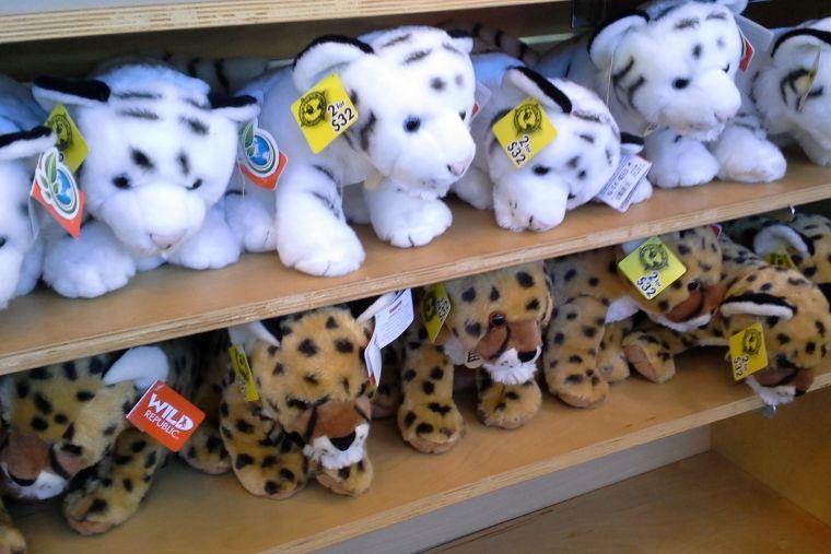 ホノルル動物園のお土産ショップ