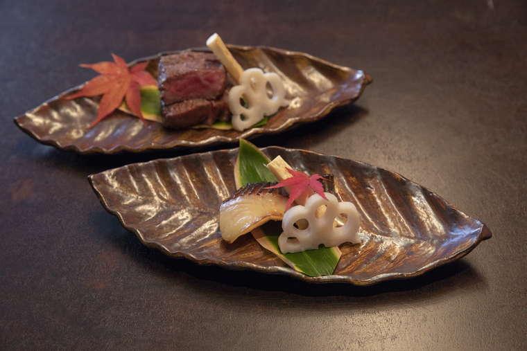 星のや軽井沢 日本料理 嘉助 山の懐石