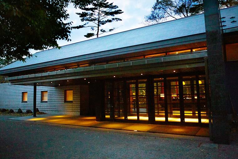 星のや軽井沢 集いの館