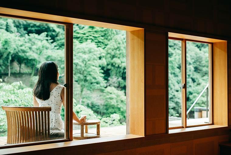 星のや京都 空中茶室