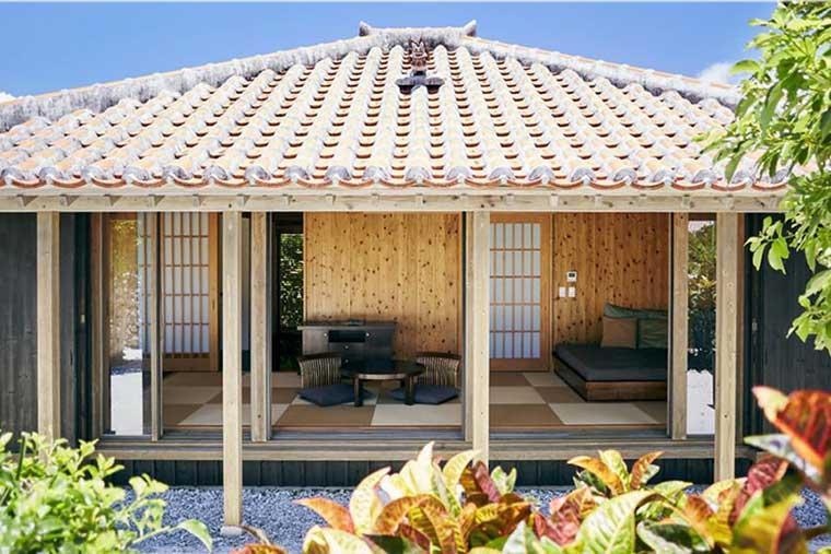 星のや竹富島の客室「キャンギ」