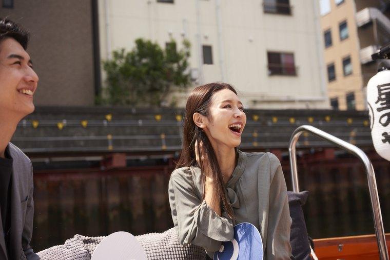 星のや東京 貸切クルーズ「水の都游覧」