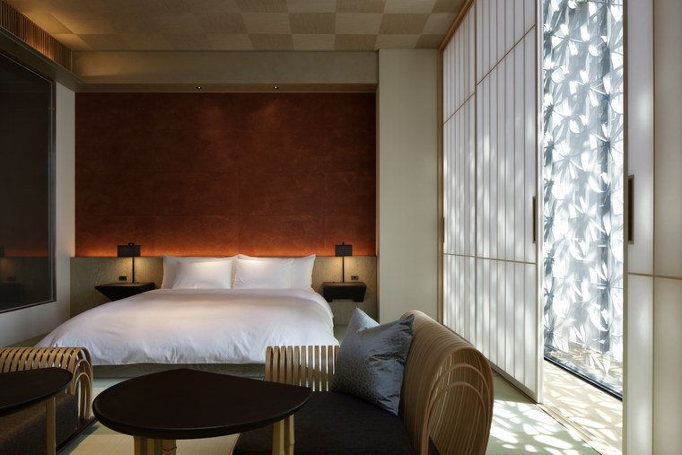 星のや東京 客室 畳敷き