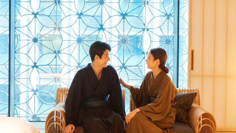 心を癒す日本旅館のおもてなし。「星のや東京」で非日常な1泊2日旅。