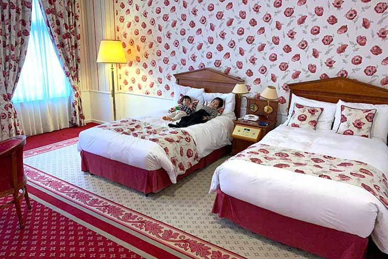ホテルアムステルダムの客室