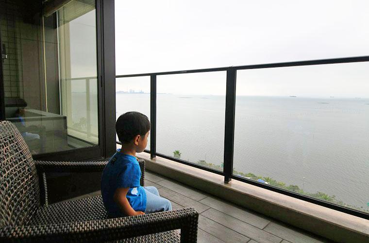 富士見亭の特別室にはすべて半露天風呂とテラスがついている