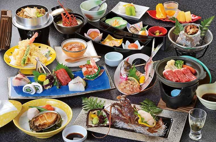 夕食和食処「つばき」の和食会席