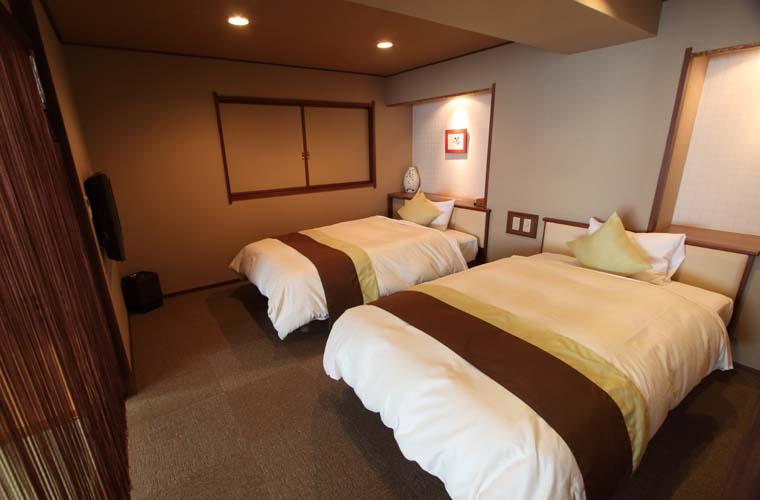 ホテルかずら橋 展望風呂付モダン和洋室