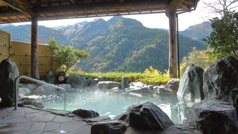 ケーブルカーで天空露天風呂へ!徳島の秘境宿・新祖谷温泉 ホテルかずら橋