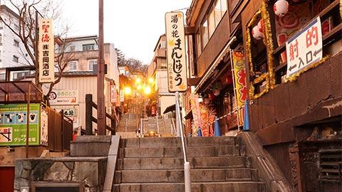 伊香保温泉の石段街とグルメを満喫!おすすめ散策コース