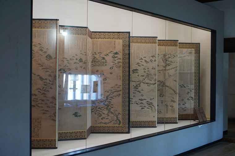 犬山駅 城内の展示