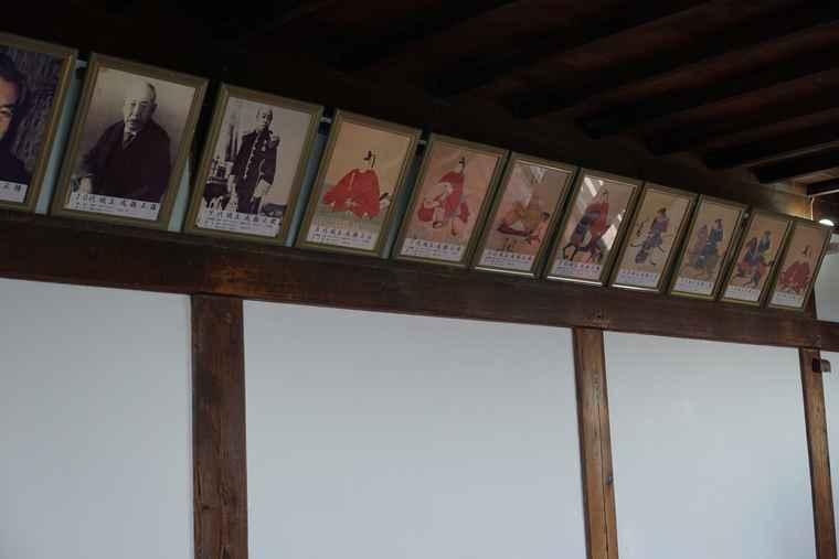 犬山城 城内の展示