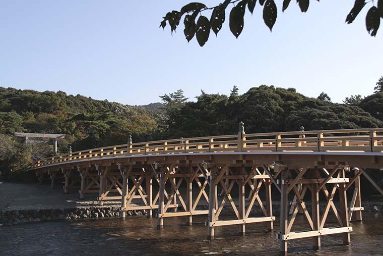 伊勢神宮 宇治橋