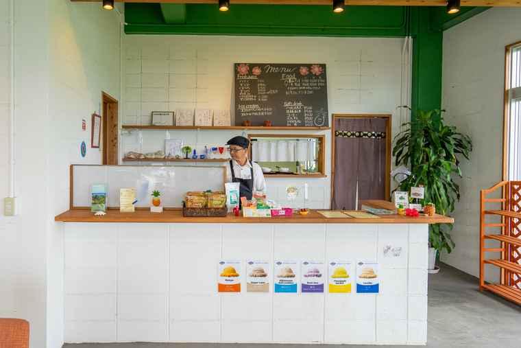 石垣島 のばれ岬観光農園のカフェ