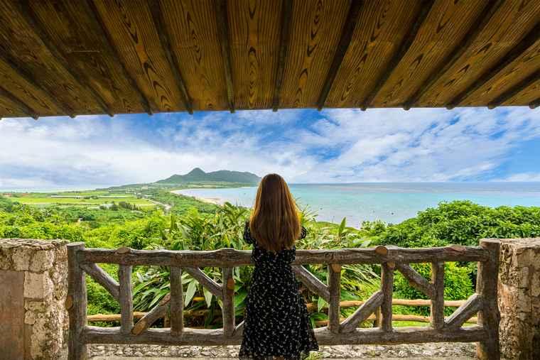 石垣島 玉取崎展望台からの景色