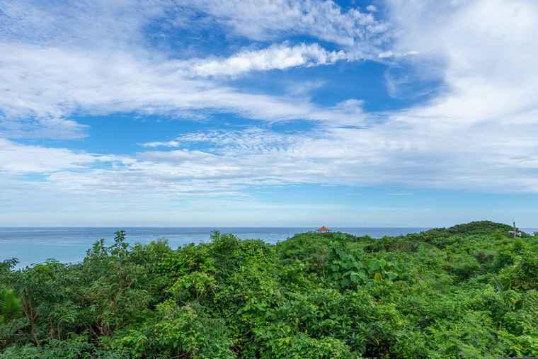 石垣島 シーフォレスト テラス席からの景色