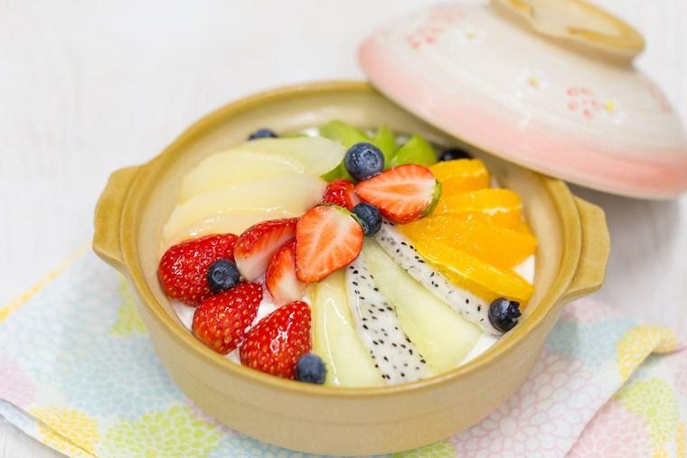 Cakes KANON「土鍋プリン」。