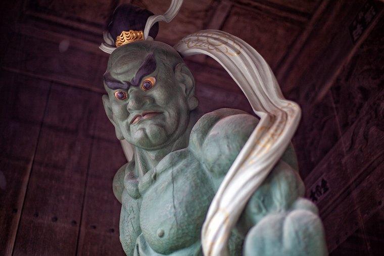 浄土宗極楽山西方寺 金剛力士