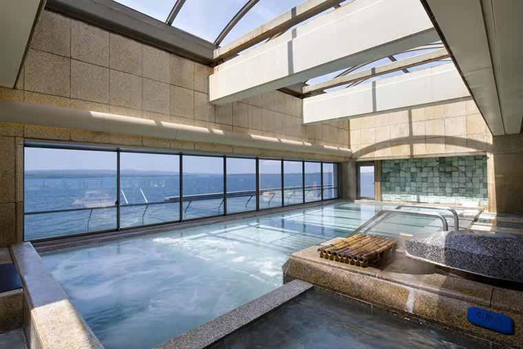 男性大浴場 野天風呂