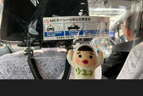 京都を熟知したドライバーにお任せ!