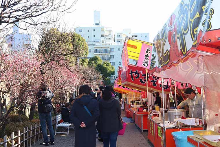 亀戸天神社の梅まつり