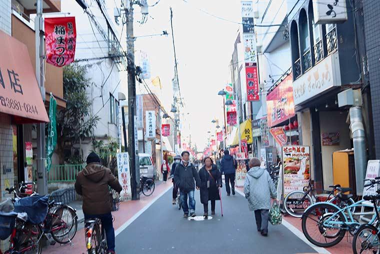 東京・亀戸の街