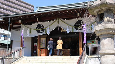 スポーツ振興の神「亀戸香取神社」と東京下町めぐり
